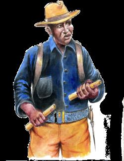 Buffalo Soldier Illustration_2