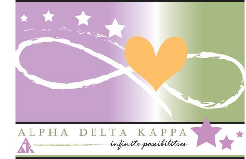 logo for Alpha Delta Kappa 2021 International Conference in austin texas