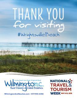 National Tourism Week Wrightsville Beach 2018 Poster