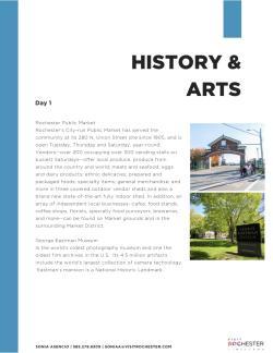 History & Arts
