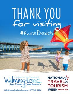 National Tourism Week 2019 Kure Beach poster image