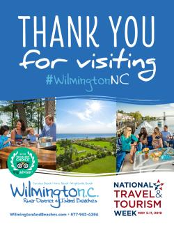 National Tourism Week 2019 Wilmington and Beaches poster image