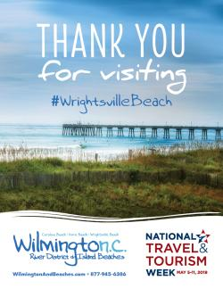 National Tourism Week 2019 Wrightsville Beach poster image