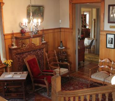 Charles Curtis House Interior