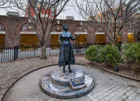 Ella Fitzgerald Statue.Yonkers