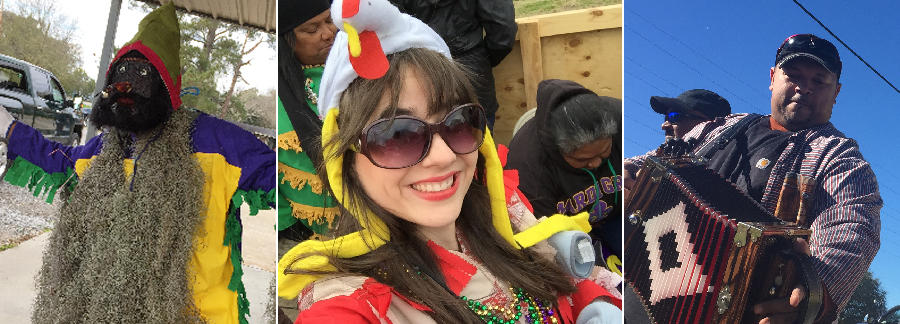Iowa Chicken Run | #SWLAMardiGras