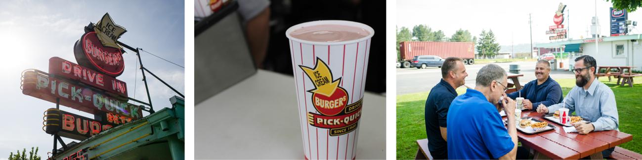 Milkshakes at PickQuick