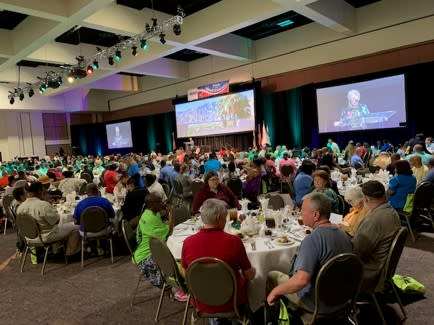 Convention Sales at Neighborhoods USA Conference in Palm Springs, California.