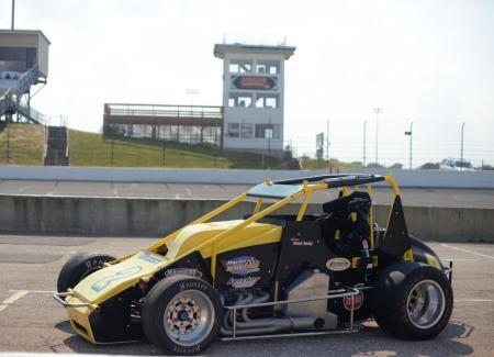 USAC car at Lucas Oil Raceway