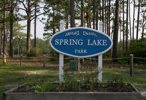 Spring Lake Park Sign TDA