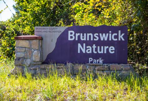Brunswick Nature Park sign