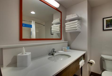 Hampton Inn and Suites_bathroom
