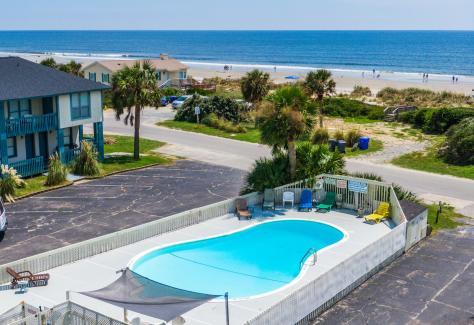 The Beach House at Oak Island pool
