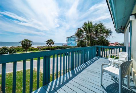 The Beach House at Oak Island view