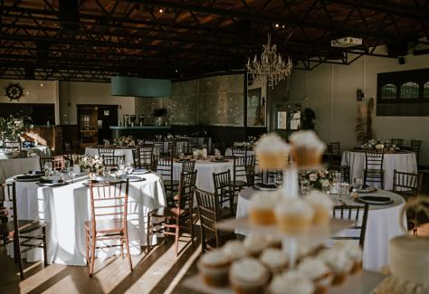 801 wedding interior