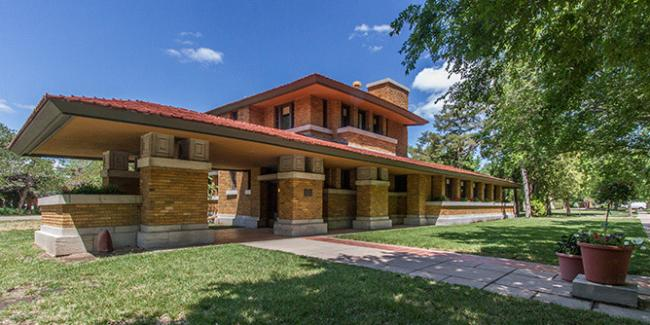 Frank Lloyd Wright house Wichita