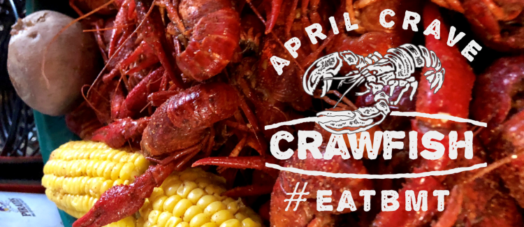 April Crave Crawfish Logo #EATBMT