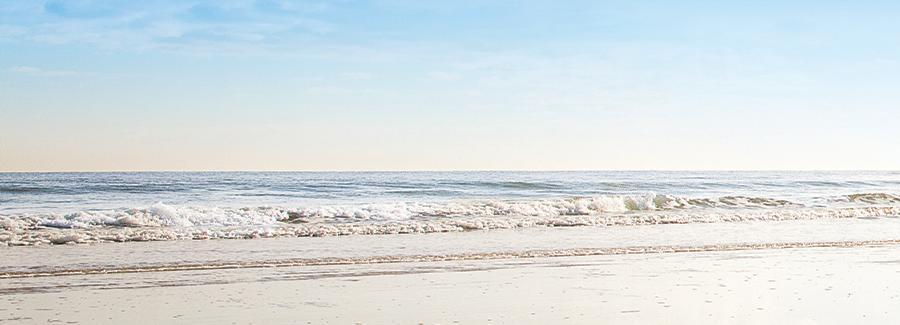 Beautiful Daytona Beach shoreline
