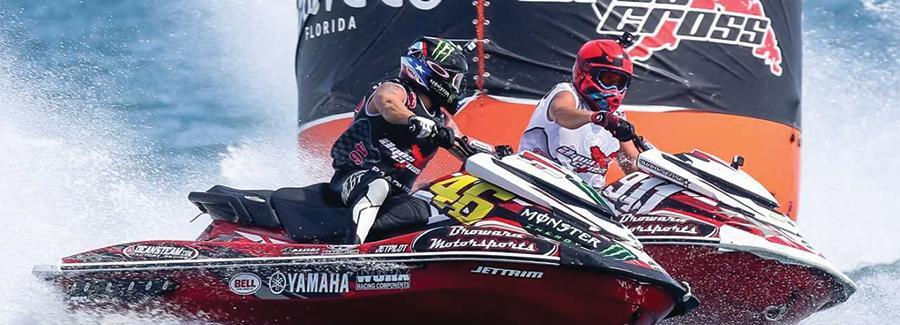 The P1AquaX professional jet skiing competition is a growing sport in Daytona Beach