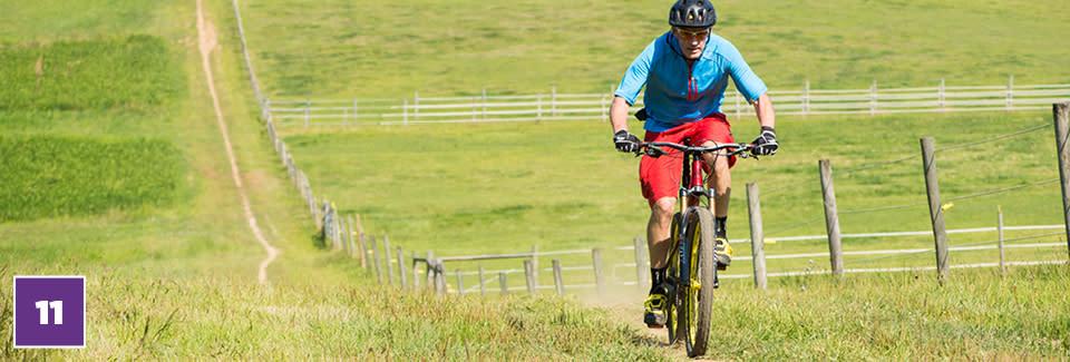 20 for 20 #11 Explore by Bike - Man Biking In Field