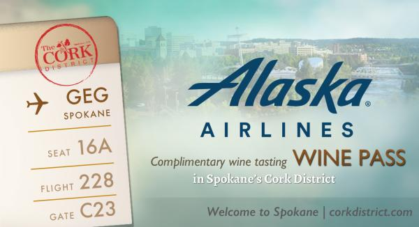 Alaska Air Wine Pass