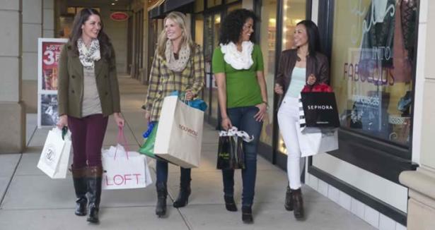 Women Shopping at Bradley Fair