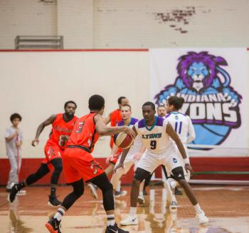 Come see the ABA's Indiana Lyons in action in Danville. (Photo courtesy of Indiana Lyons)