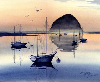 David J Rodgers Watercolor