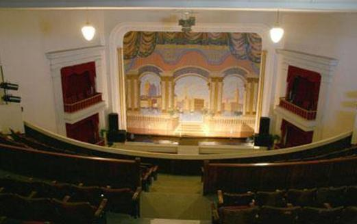 Virden Auditorium Interior