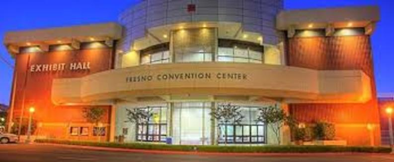 Exterior of Convention Center Building