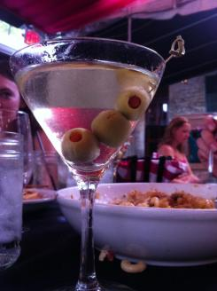 Moonshine Patio Bar & Grill simple gin martini