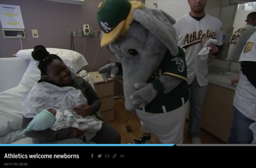 Oakland Athletics - Newborn Visit
