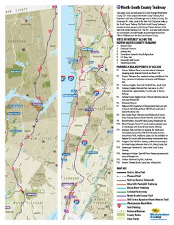 South County Trailway Map North South County Trailway – Hike, Bike, Explore Westchester
