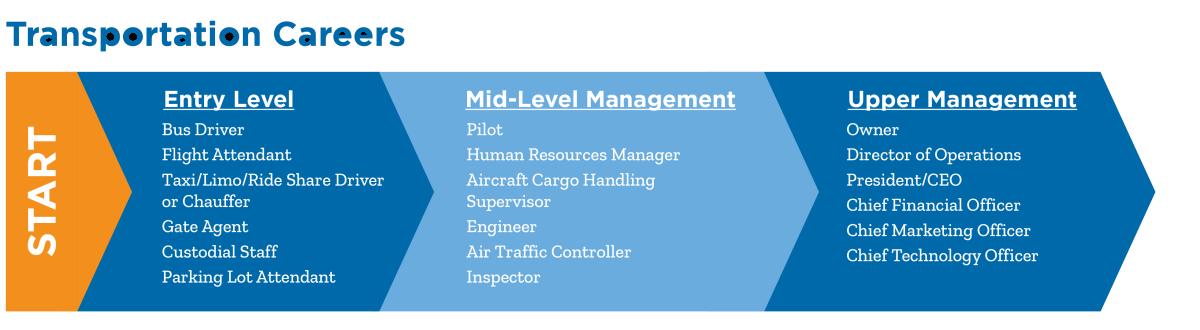 Chart: Transportation Career Ladder