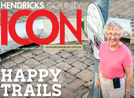 Diana Virgil on Hendricks County ICON cover