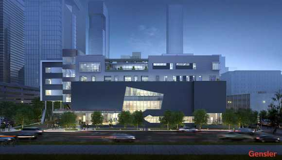 Houston School of Performing and Visual Arts rendering