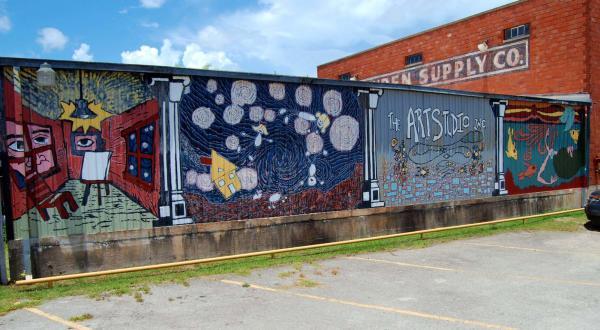 Mural at The Art Studio