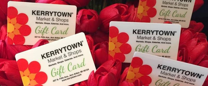 Kerrytown Market and Shops gift cards