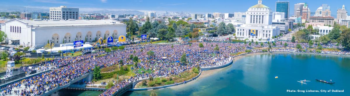 Warriors NBA Finals Parade
