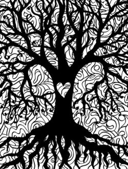 Lynne Medsker Coloring Sheet - Tree
