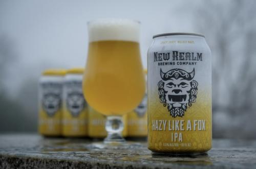 New Realm Brewing Company Hazy Like A Fox