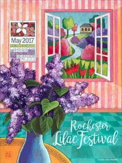 Kurt Pfeiffer Lilac Fest Poster 2017