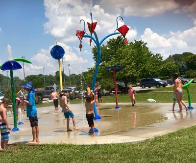 Hummel Park Splash Pad