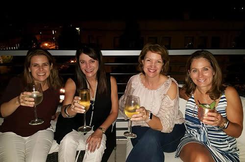 Stephanie rooftop bar hop