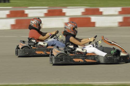 Go Karts at NOLA Motorsports