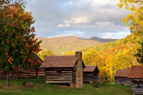 Fall at Vance Birthplace