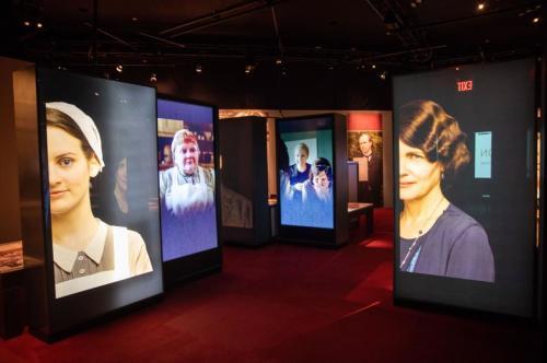 Downton Abbey Exhibition Press Photos