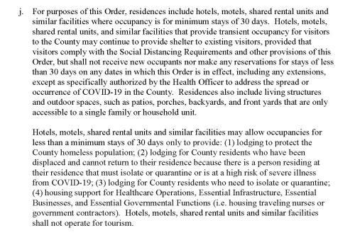 COVID-19 Napa County Shelter at Home 4/3 (Part J)