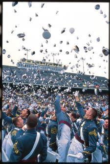 West Point graduation ceremony