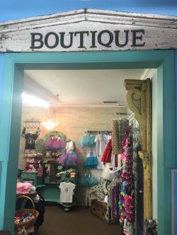 The boutique section at Kids Go Round in Plainfield